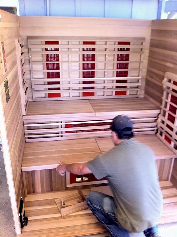 My IR Sauna Detox Tips & Mike Salemi Training » Paul Chek ...