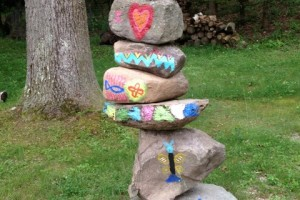 Jason Jacquie Painted Stack
