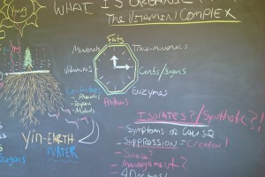 Vitamin Complex Blk Board Drawing