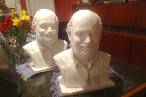 Father Gregory Boyle sculptures