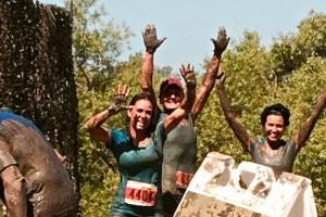Angie Jennifer and Jeles mud pit