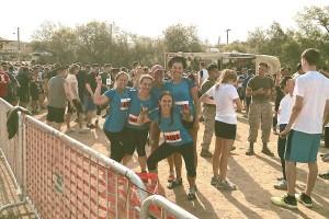 Mud Run Race Start