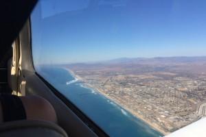 SF Flight beach view