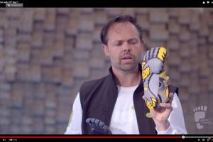 Matthew Wallden showing 5 Fingers