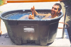 M Selemi ice bath