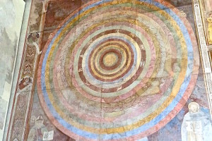 Fresco in Sienna Italy