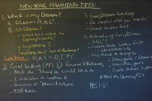 New Year Planning 2016