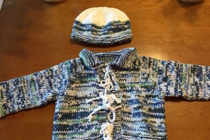 Mana sweater and hat