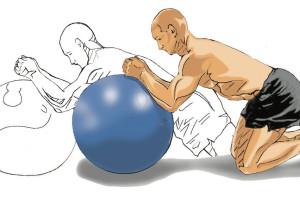 Paul forward ball roll