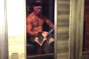 Paul in IR Sauna 2