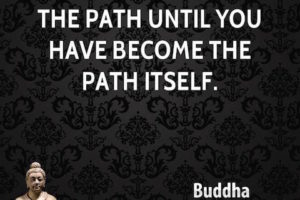 Buddha the path