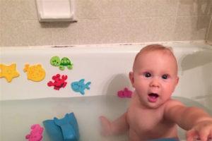 Mana in big bathtub