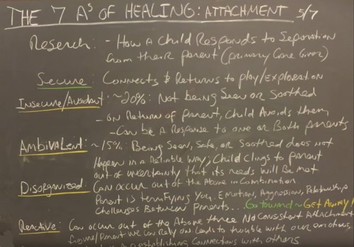 The Seven A's of Healing Part 5: Attachment
