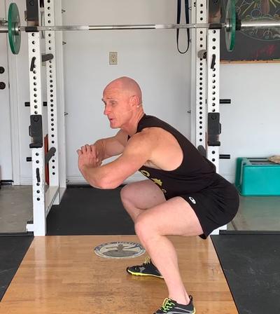 The Sumo Stomp Squat