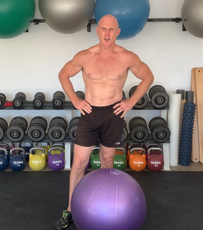 The Single-Arm Swiss Ball Pushup